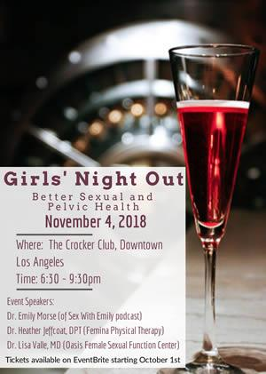 Girls Night Out: Better Sexual and Pelvic Health